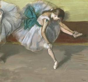 """Э. Дега, """"Отдыхающая танцовщица"""""""